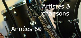 Artistes & chansons en anglais – Le Top des années 60 – Rock, Pop, Rétro, R&B volume 1