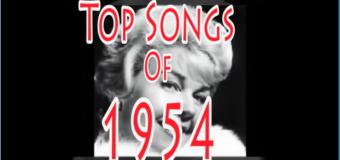Retour en (1954) en chanson
