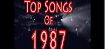 Retour en (1987) en chanson