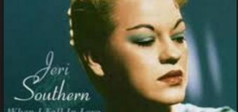 Jeri Southern – When I Fall In Love (1952) (vidéo & paroles)